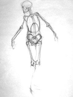 Anatomy Study, Anatomy Drawing, Anatomy Reference, Drawing Reference, Cartoon Sketches, Cool Sketches, Cool Drawings, Body Drawing, Life Drawing