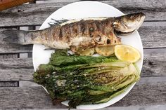 How to grill a whole fish. Can't wait to try.