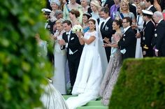Adelshochzeit: Prinzessin Madeleine strahlt an ihrem großen Tag.