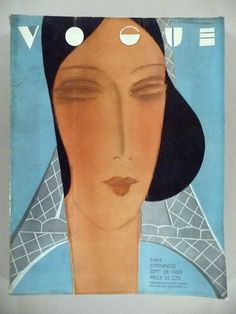 Vogue Magazine - September 28, 1929 -- Paris Openings