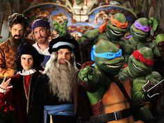 Artists vs Teenage Mutant Ninja Turtles. Epic Rap Battles of History Season 3 Finale! #tmnt #erb