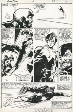 Alpha Flight #12, page 13 by John Byrne & Andy... | John Byrne Draws...