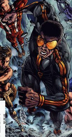 2011 WORLD OF BLACK SUPER HEROES §§§  Blur (Character)