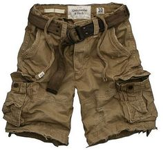 I wonder if I got a pair of these Shorts For Men, and cut them off right upder the top pockets, if they would look good on me. Gona try it