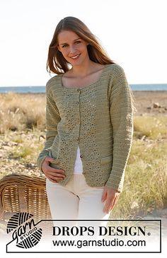 crochet cardi I want to make (free pattern)