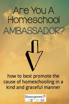 Are You a Homeschool Ambassador?