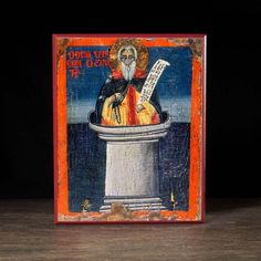 Simeon the Stylite Icon - S259 - Legacy Icons