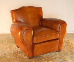Alacant : sillón club y sofá club de cuero