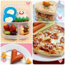 kids breakfast, lunch, and supper valentine day idea