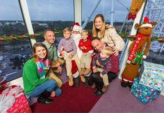 The Orlando Eye Frostival Santa Meet and Greet