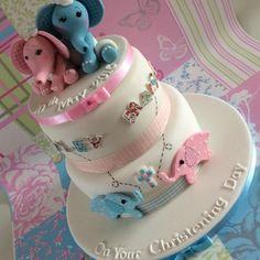 Christening Cake - Cake by mary nash13