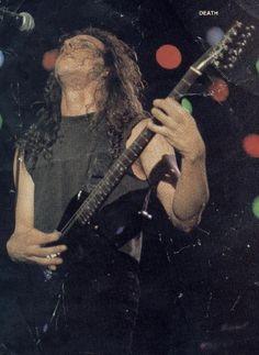 13 December, 2001 Chuck Schuldiner. Death.  He is not dead, he is DEATH! \m/