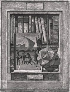 Erik Desmazieres imaginary libraries | Graphicine