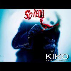 Why so RED? #batman #joker #dc #kiko #makeup #parody #funnypictures
