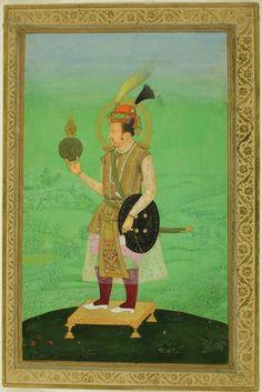 Portrait of Emperor Jahangir, c. 1800, Art Institute of Chicago