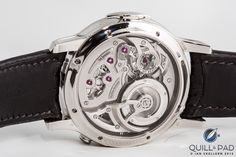 The beautiful view through the display back of Romain Gauthier's Logical one. Toys For Boys, Boy Toys, In A Heartbeat, Dress Watches, Display, Mens Fashion, Accessories, Beautiful, Clock Art