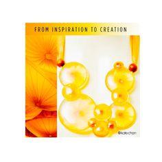 Mandala Statement Necklace by Kate Chan