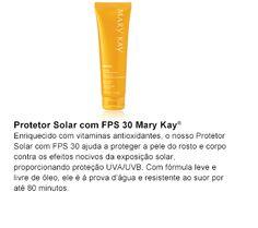 Protetor Solar com FPS 30 Mary Kay®