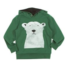 Esprit Hoodies - Esprit Polar Bear Hoody - Forest Green