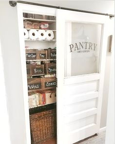 The pantry is done! Can you believe this was a coat closet before all this! We had little to no space in our kitchen for food. Creating this space has been awesome and opened up a lot of cabinets in the kitchen also allowing me to have the open cabinets. This whole project cost was $160! That's for the new door, hardware, bins, shelf paper, vinyl on door. This is such a big transformation as far as just using what space we have wisely. With having a large mudroom/laundry room, we didn't need ...
