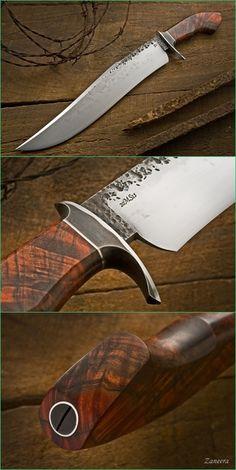 Burt Forster Handmade Knives | Polar Bowie