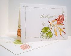 Stamping 411: Clean and Simple Stamping - Wonderful One Layer Cards