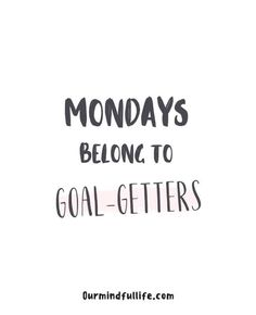 """46 Monday Motivation Quotes To Start The Week Like A Badass Monday sets the tone for the whole week. So here are the best Monday motivation quotes to fight your Monday blues and start the week strong. """"Shit is hard, do New Week Quotes, Quote Of The Week, Its Friday Quotes, Daily Quotes, Quotes To Live By, Quotes About Monday, Monday Work Quotes, Happy Monday Quotes, Monday Humor"""