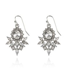 SAMANTHA WILLS - Willow Lane Earrings; Silver Decadent Jewellery Wedding Bridal Jewelry Luxe