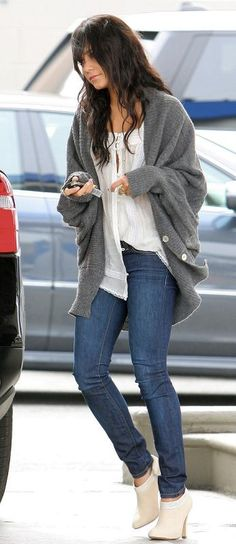 love the sweater and booties