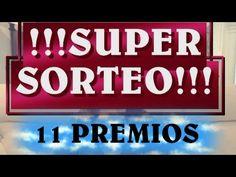 !!!!SUPER SORTEO INTERNACIONAL ABIERTO!!!!!! 11 PREMIOS DE ARTESANÍA Y MAS