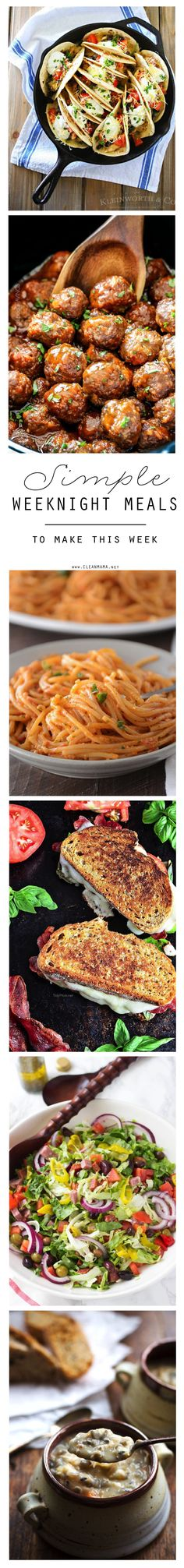 No time? No problem! These easy yet satisfying dinners are ideal for busy days.