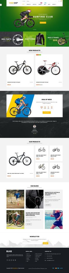 Ves Sportshop Magento 2 Responsive #Template has 4 stunning layouts for sports #eCommerce #website. Download Now!