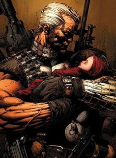 Uncanny X-Men No.493 Cover: Cable