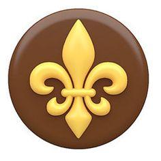 Wedding - Chocolate Covered Oreos Fleur de Lis Mold