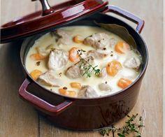 La blanquette de veau: Ce plat typiquement français mais aussi très gourmand, réchauffera vos soirées d'hiver.