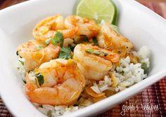 Skinny Taste Garlic Shrimp