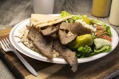 Recipe for Greek Gyro Salad Gyro Salad, Greek Gyros, Greek Cheese, Gyro Recipe, Greek Salad Recipes, Cheese Tarts, Salad Topping, Greek Dishes, Mediterranean Diet Recipes