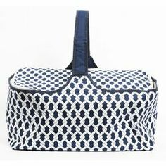 DEI Latitude 38 Nautical Rope Insulated Picnic Basket | Wayfair