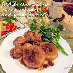 赤ワインが飲みたくて、大根と手羽元を洋風煮物に。クックパッドでちょうどいいレシピを見つけたので、参考にさせてもらいました。 大根の洋風煮もなかなか美味しいかったです  ☆もやしと竹輪の粒マスタード和え ☆ピーマンのパルメザン焼き - 210件のもぐもぐ - 大根と手羽元のはちみつ赤ワイン煮♡ by Mayutak