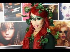 cute poison ivy costume makeuup ideas | Halloween costume lion - Poison Ivy Costume Make Up Tutorial for ...