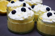 A delicious, light and fluffy healthy lemon mousse. Just half a syn each on Slimming World & perfect for curbing sweet dessert cravings.