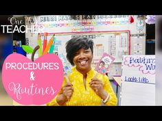 Classroom Management: Procedures and Routines - YouTube
