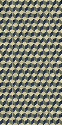 Victorian, Encaustic effect Geometric, Retro style ceramic floor tiles - Guell 1 | eBay