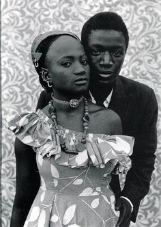We have a thing for Malian portrait photographers. Last year our fascination was Malick Sidibe's shots, and this year Seydou Keita influenced noon for ecru's