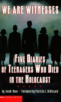 We Are Witnesses: Five Diaries Of Teenagers Who Died In The Holocaust by Jacob Boas. This book contains diaries from teens who provide different perspectives on the Holocaust: one struggling against fear and terror in Poland, another shows us how Jews clung to culture, another is the voice of religion, and lastly one who demonstrates the unquenchable hunger for life that sustained her until the very last moment. At the end of the book, Boss ends by discussing Anne Frank's diary. Christine J.
