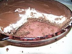 Ginny's Low Carb Kitchen: Chocolate Peanut Butter Cup Pie, LC, GF