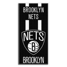 6cb7241f3f5 Northwest Co. NBA Zone Read Beach Towel NBA Team  BrooklynNets Basketball  Legends