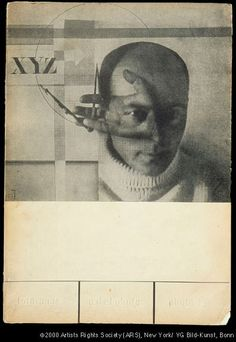"""chagalov: """" El Lissitzky - cover of """"Foto-Auge (Photo-Eye): 76 Photos of the Period"""", ed. by Franz Roh and Jan Tschichold (1929) from: """"Monuments of the Future"""": Designs by El Lissitzky"""" at Getty..."""