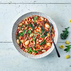 One-Pot Pancetta & Baby Kale Minestrone  Recipe   Gousto