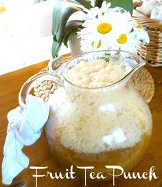 Slushy Southern Fruit Tea Punch~  perfect for entertaining